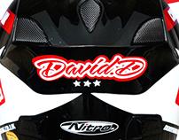 Custom Race Helmet // Dootson Pneumatics