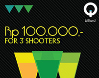 Q Billiard - Drinks Promotion