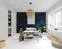 Scandinavian interior in Warsaw, Poland № 011
