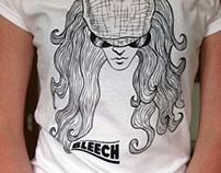 Bleech Band T-Shirt Design