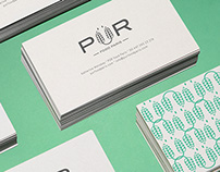 PÜR food paris branding