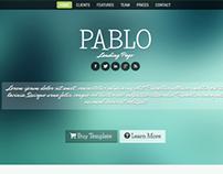 Pablo - Responsive Landing Page