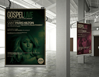 Gospel: Typographic Posters