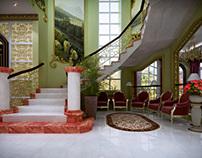 Villa Interior Series - 03 (Arabic Style) | 3D
