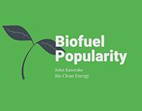 Biofuel Popularity | John Kaweske | Bio Clean Energy