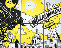 Why visit Dresden? – Graphic Recording at TUN 2018