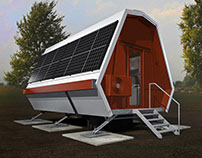 1604 High tech tiny house