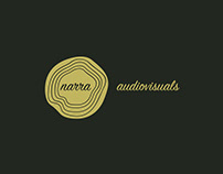 Narra audiovisuals Branding