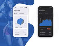 Activity sport tracker - App Design Concepts