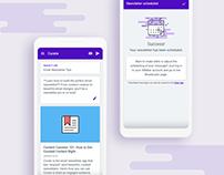 UI Refresh - Curate App