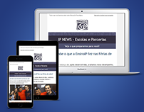 Responsive Newsletter - Clientes EnsinoIP