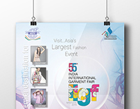Poster for 55th India International Garment Fair