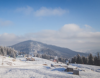Small winter trip to Carpathians