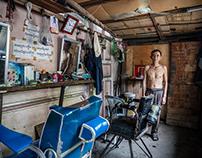 CAMBODIAN BARBER SHOPS