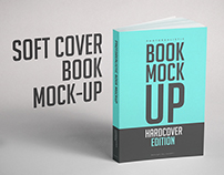 Softcover Book Mock-up PSD