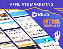 Blurb - Affiliate Marketing HTML Template