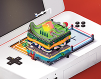 \ Nintendo Origine /