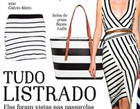 Editorial de Moda - Tudo Listrado