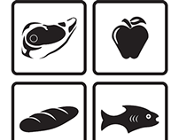 Grocery Store Pictograms