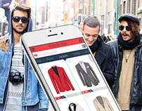 Mobile UI Fashion Design