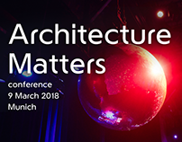 Architecture Matter 2018 - website