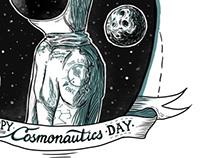Cosmos, Love, postcard