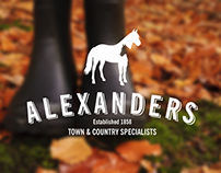 Brand Identity for a town and country store