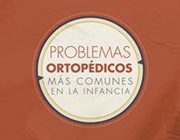 PROBLEMAS ORTOPEDICOS MAS COMUNES EN LA INFANCIA