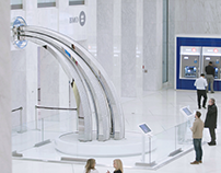 Integrated Campaign - BMO / The BMO200 fountain