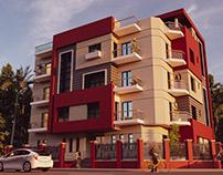 Modern Residential Elevation