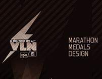 Medal Designs: AŠ BĖGU. VILNIUS 2013 | NIKE / DNB