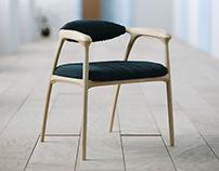 Haptic Chair with Corona Renderer