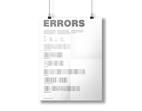 Errors Info-Graphic