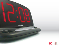 LED Alarm Clock for Kmart and Walmart