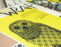 Wrap Magazine Spread | Type as Pattern