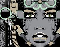 """JADE"" - Vector Art Print"