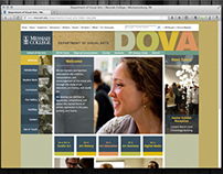 Department of Visual Arts Website