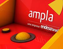 """Totens AMPLA (Caminhão """"Consciência AMPLA Sobre Rodas"""")"""