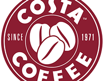 Event Poster - Costa Coffee Ireland