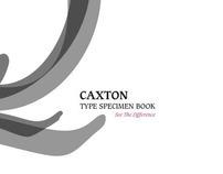 Caxton Type Specimen Book