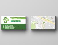 Business Cards - Meri Farm Pharmacy