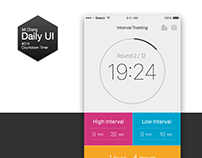 Daily UI Challenge #014 Countdown Timer