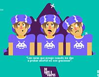 #despuesdel98 Pernod Ricard post y animaciones
