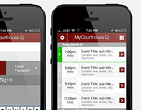 MyCourthouse - Mobile UI
