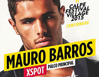 MAURO BARROS - CALPE FESTIVAL VILLAGE 2015