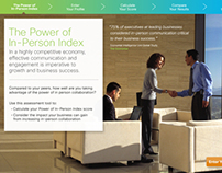 Cisco Power of In-Person Index