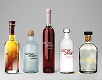 Cosmic spiryt. Alcohol branding