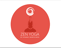 Yoga Centre Media Kit Design