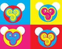 Shoujo Spin monkey fun logo