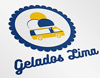 Gelados Lima - Logo + Business Card